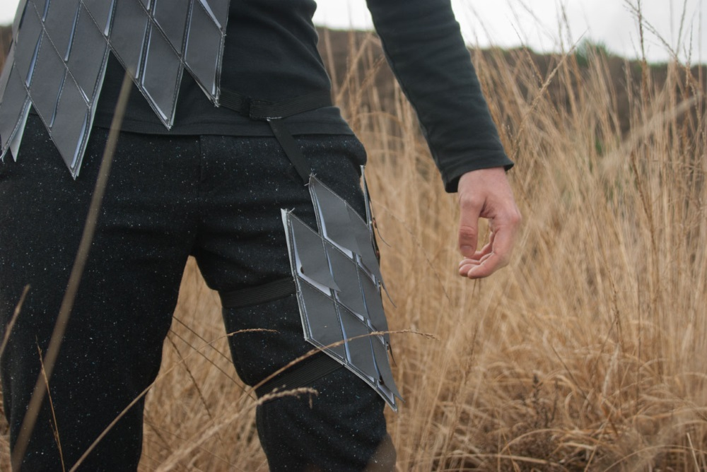 Wearable Detects The Direction Of Magnetic North