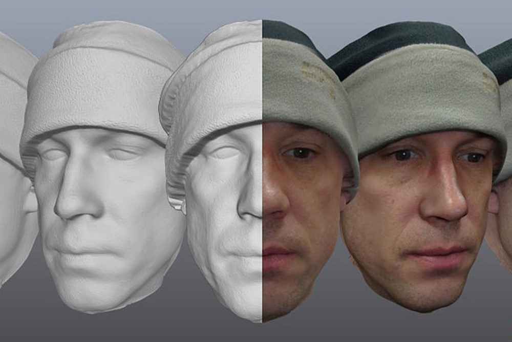 3D Face Camera