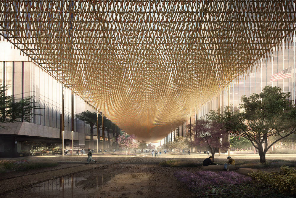 Urban Canopy Concept Could Help Cool Overheating Cities