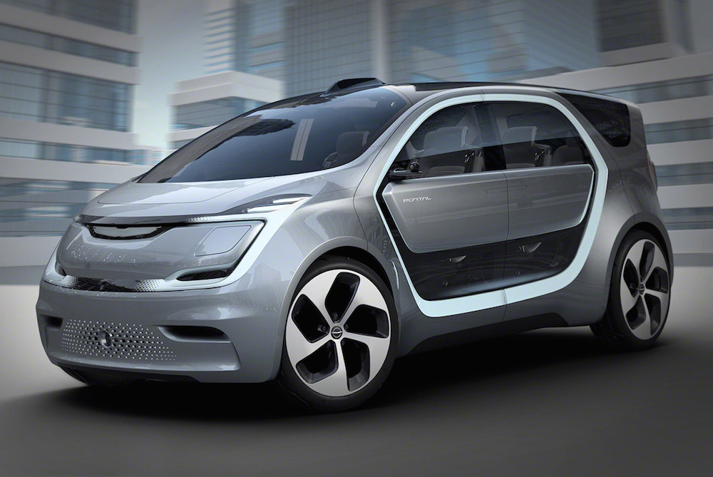 Chrysler's Portal Concept Is An Autonomous Minivan For Millennials