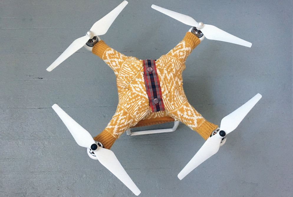 A Company Is Making Sweaters Just For Drones