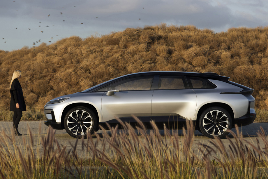 Faraday Future's First Tech-Loaded Car Tries To Redefine The Future Of Mobility