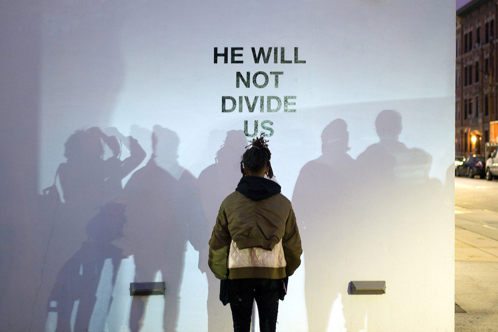 Shia LaBeouf's Latest Performance Is Four-Year Long Live-Streamed Political Protest