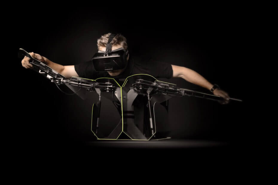 Take To The Virtual Skies With This Bird-Like Suit