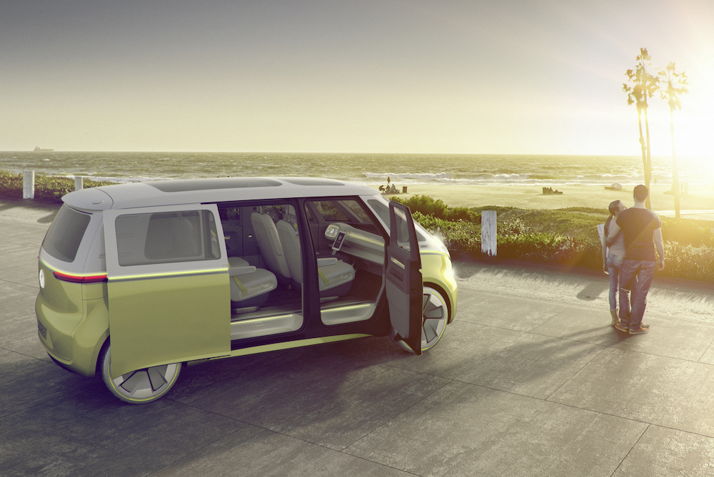 Volkswagen Remakes Their Classic Van Into An All-Electric Concept Vehicle