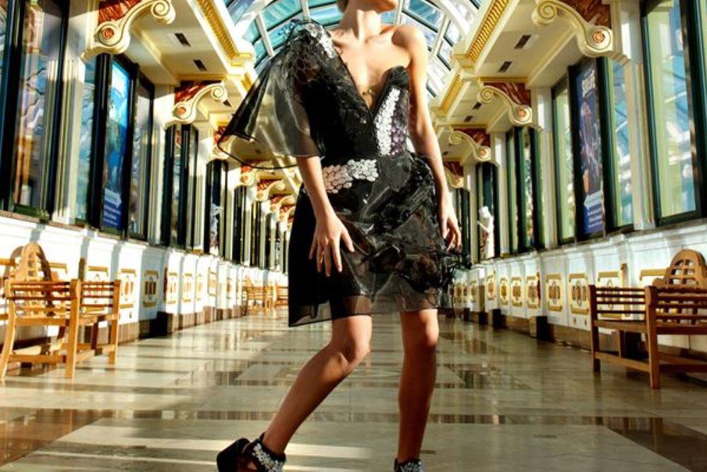Graphene Dress Shows The Future Of Fashion Material Design