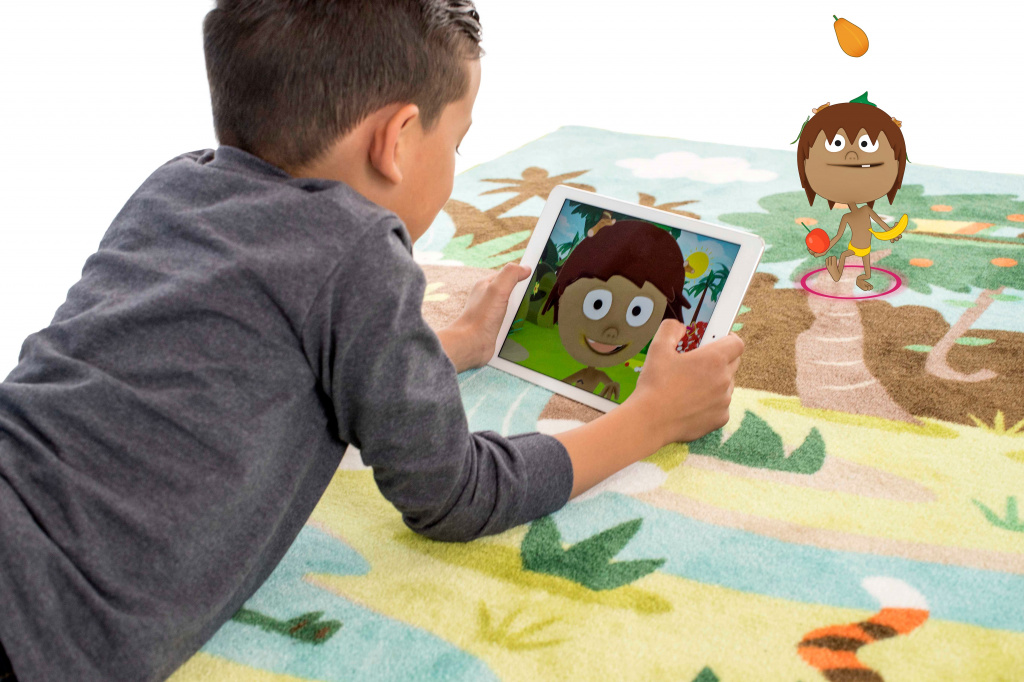 Storytelling Rug Uses AR To Brings Kids Stories To Life