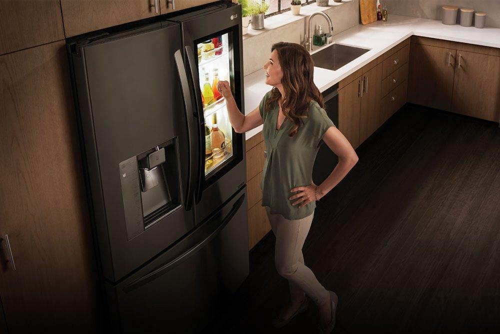 LG Smart Fridge Has Built-In Amazon Alexa For Seamless Ordering