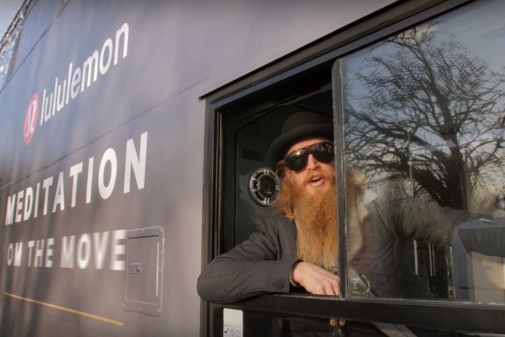 Lululemon's Meditation Busses Help Londoners Find Calm And Focus