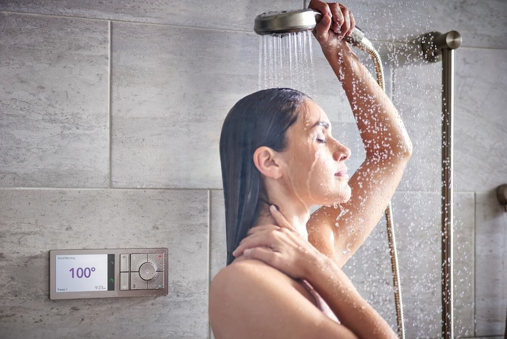 Intelligent Shower Personalizes The Experience To Each Person