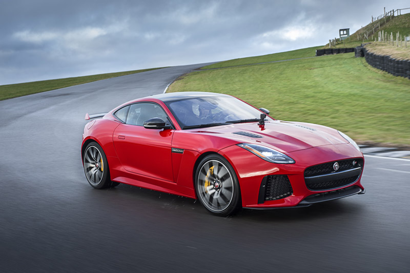 Jaguar's New Sports Car Has An Integrated Camera To Make Driving More Shareable