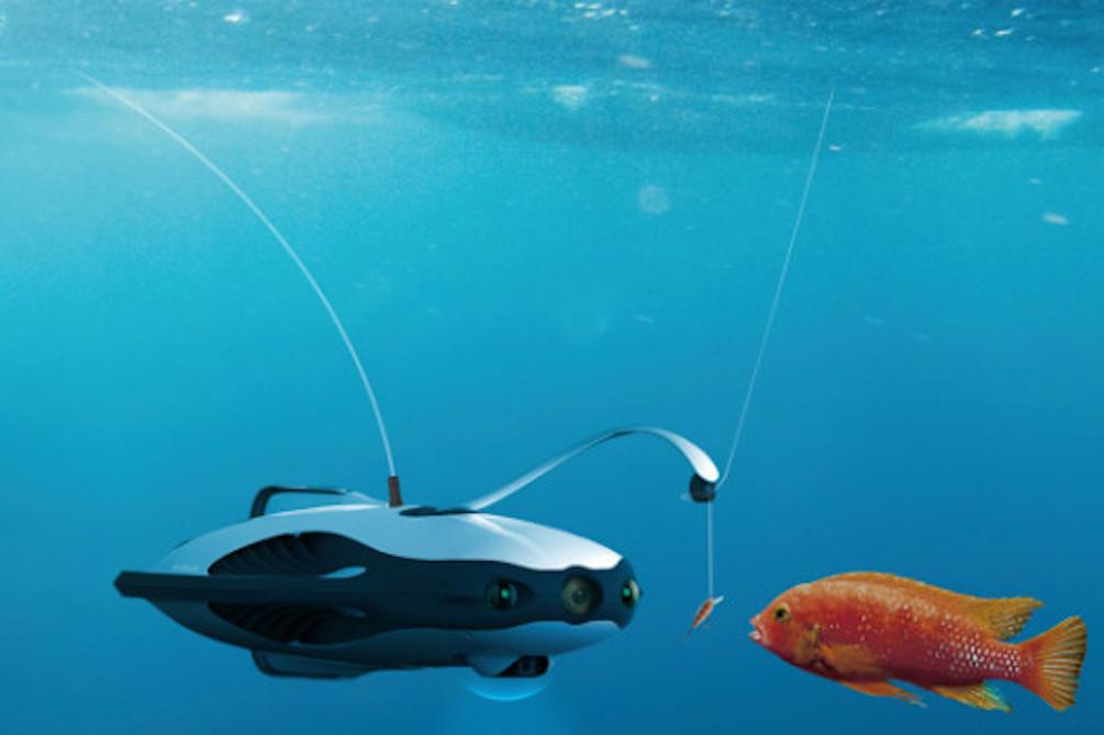 Underwater Drone Wants To Revolutionize Fishing
