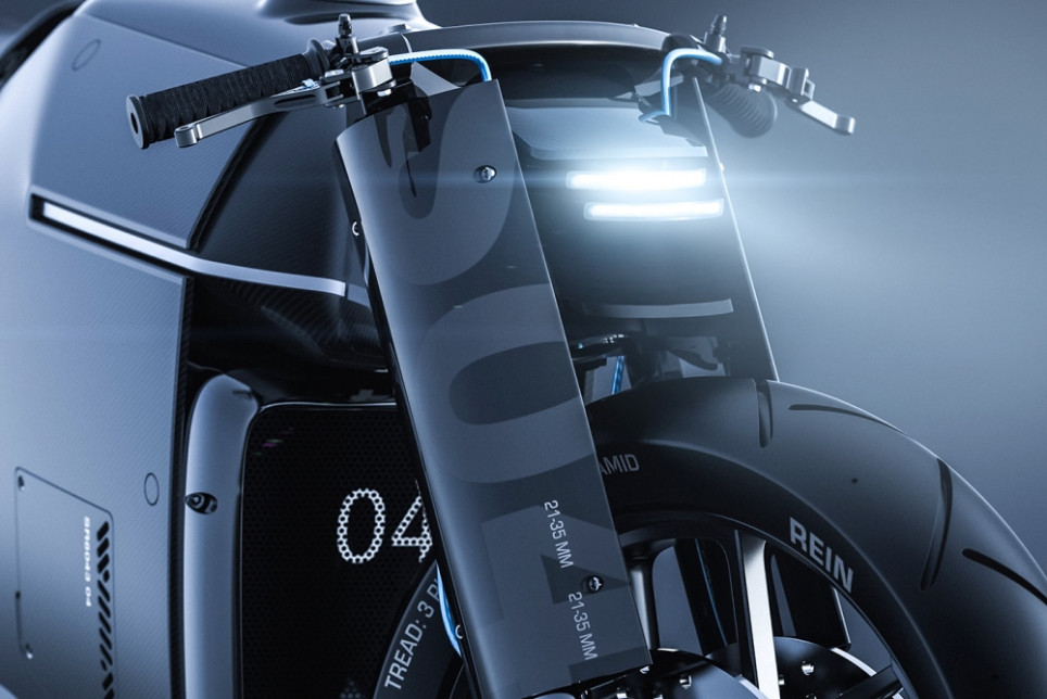Futuristic Concept Shows New Possibilities For Motorcycle Design