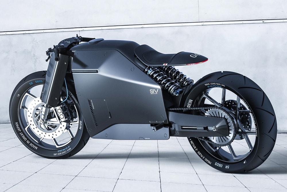 samurai-motorbike Motorcycle Design