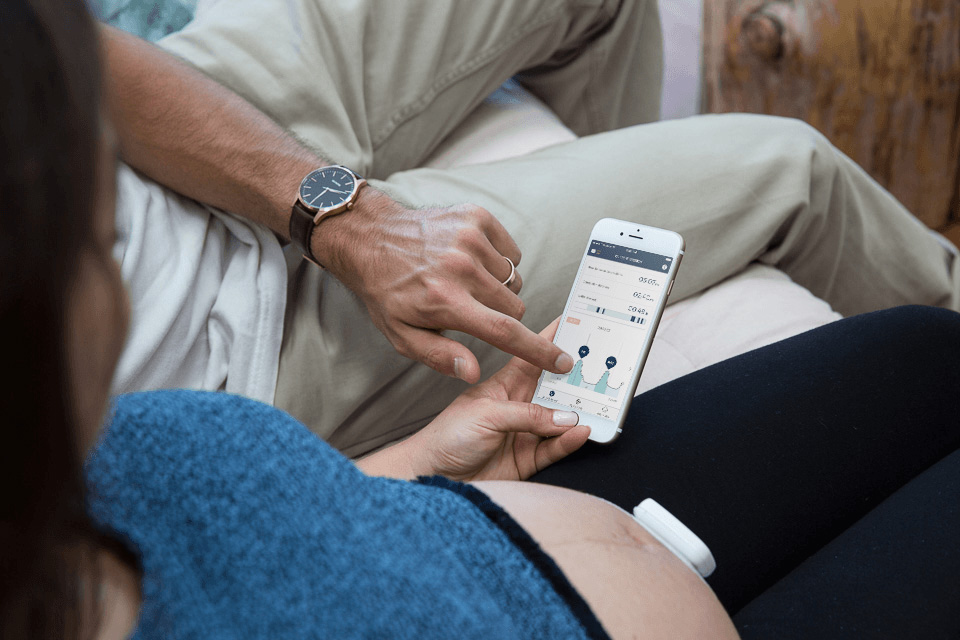 Wearable Helps Pregnant Women Track Contractions In Real Time