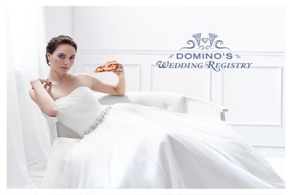 Domino's Has Launched Their Very Own Wedding Registry