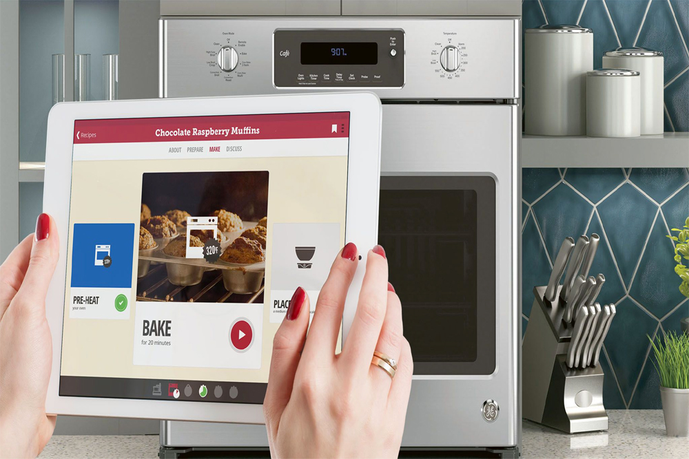 GE's Oven Can Be Sent Cooking Instructions Remotely