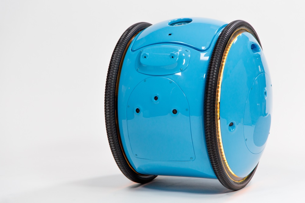 Luggage Robot Travels At Human Speed