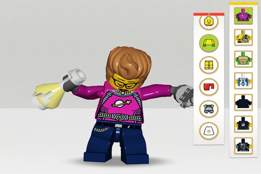 Lego Life Is A Social Network That's Designed For Kids
