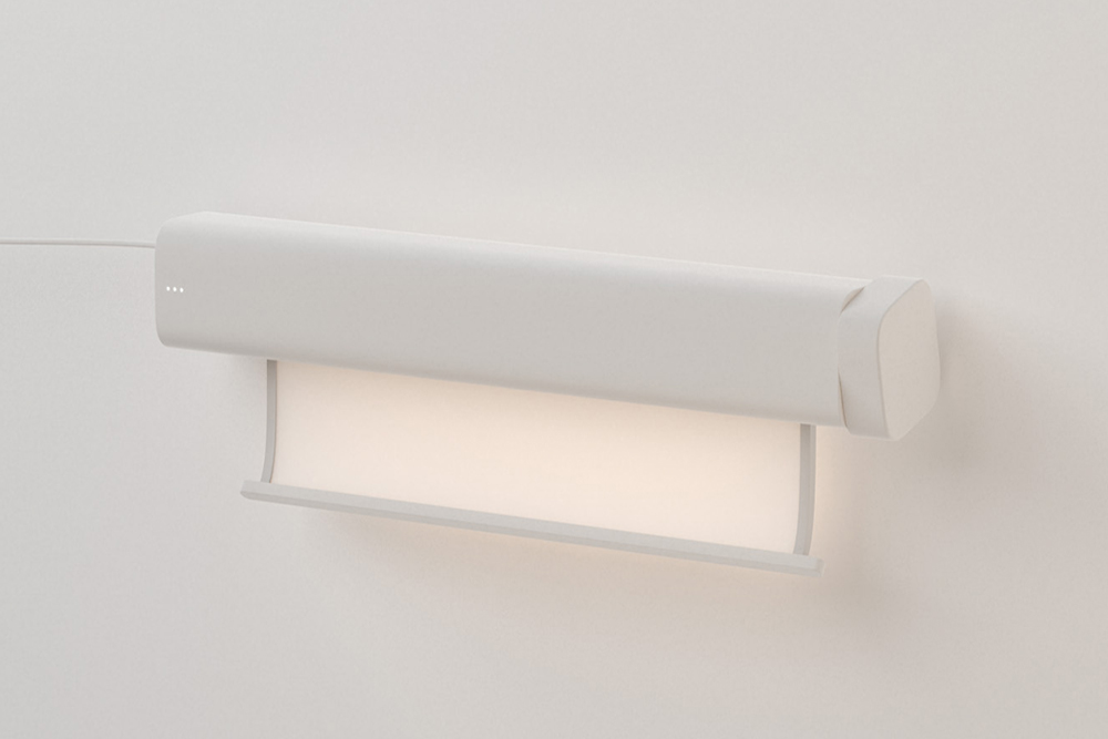 Roller Shade Stimulates Sunshine for Windowless Rooms