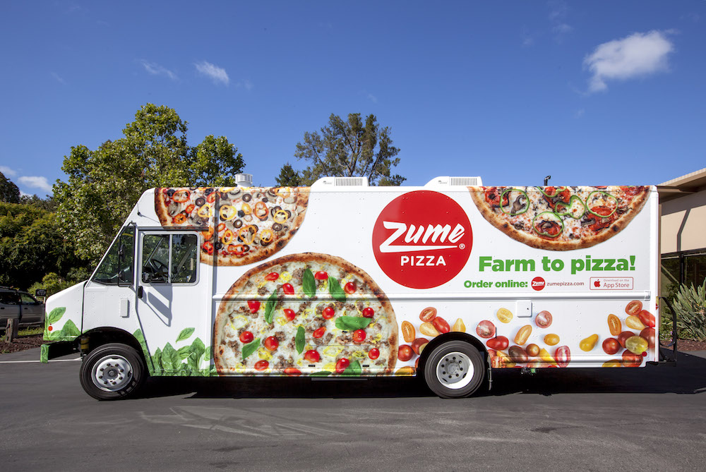 Robotic Pizza Delivery Van Will Cook A Pizza On The Way To Your Door