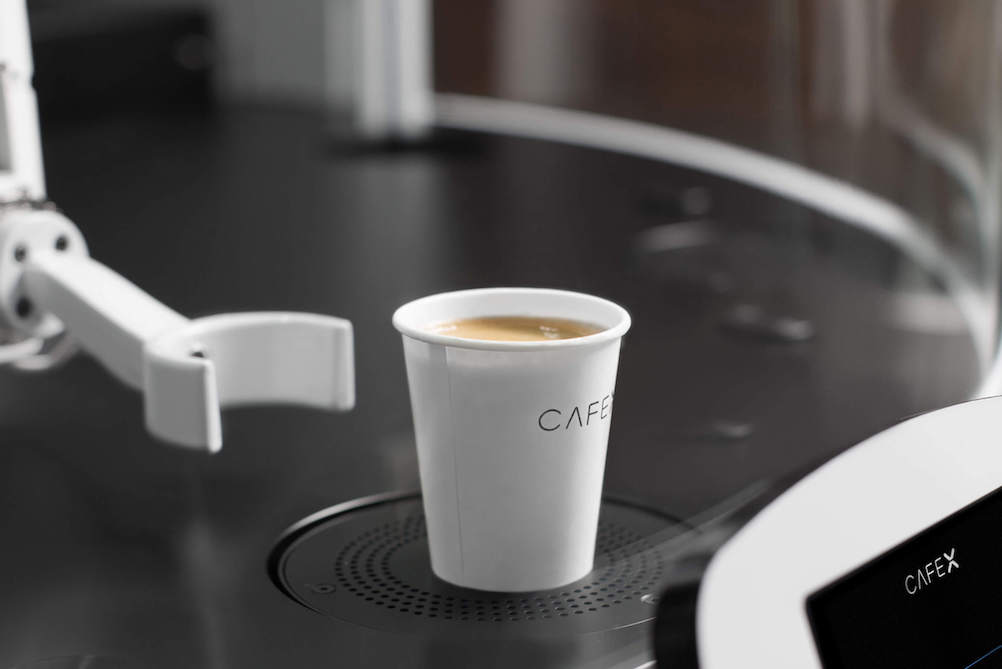 Cafe's Robotic Barista Turns Out The Perfect Cup Of Coffee