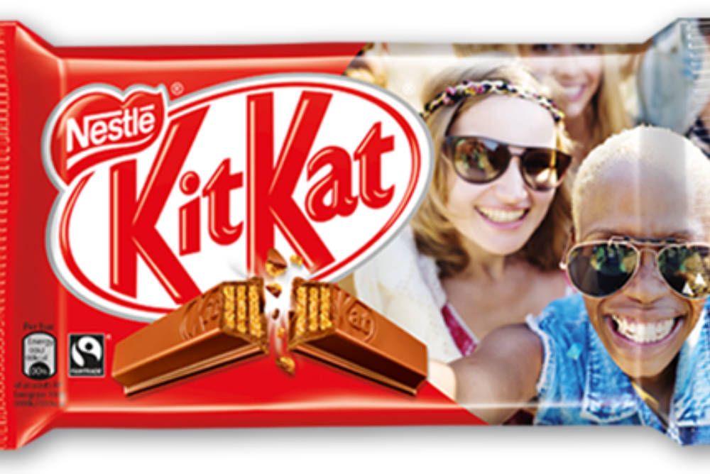 Kit Kat Gives Away Personalized Packs With Customer Photos