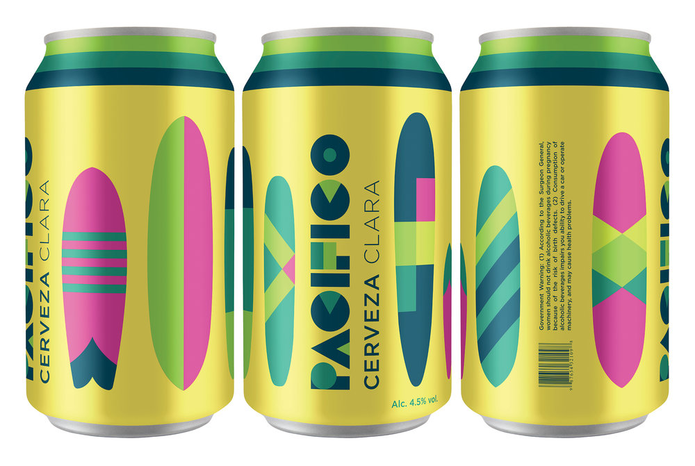Pacifico Rebrand Adopts A New Summer Look