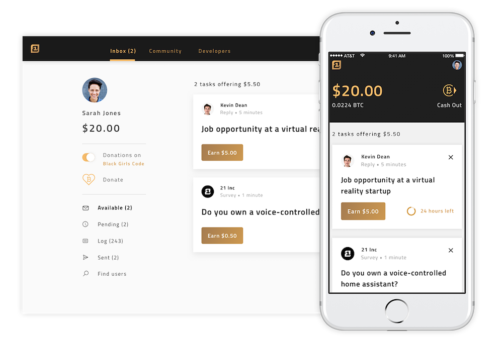 Professional Network Pays Digital Currency For Answering Questions