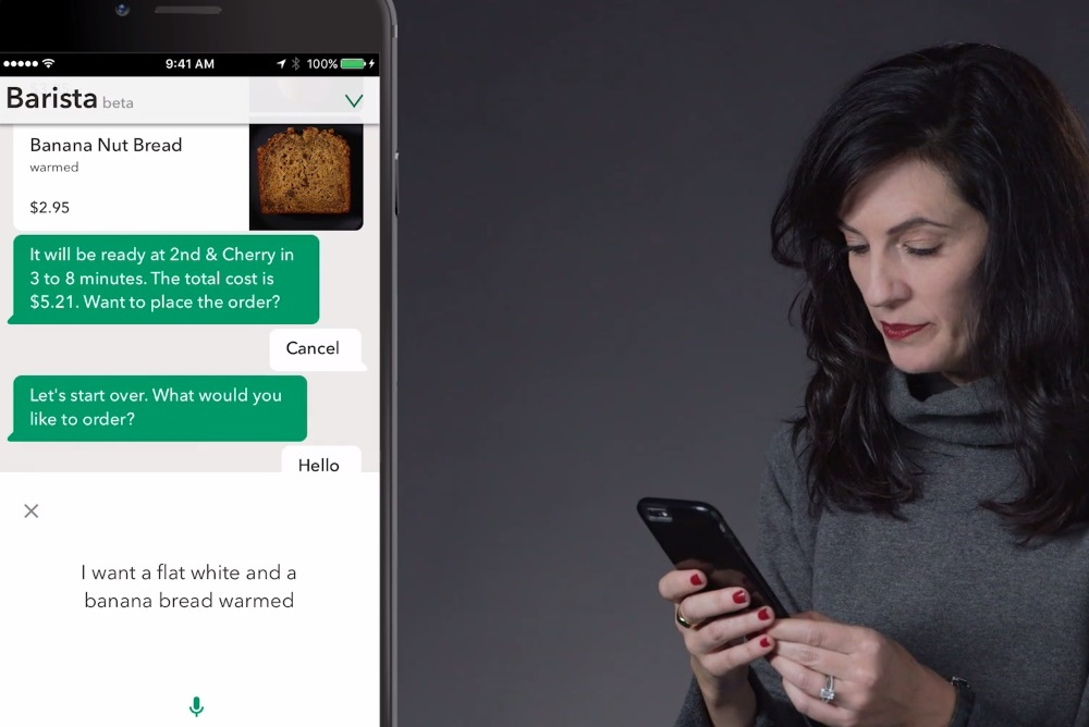 Starbucks AI Offers Voice Ordering For Customers