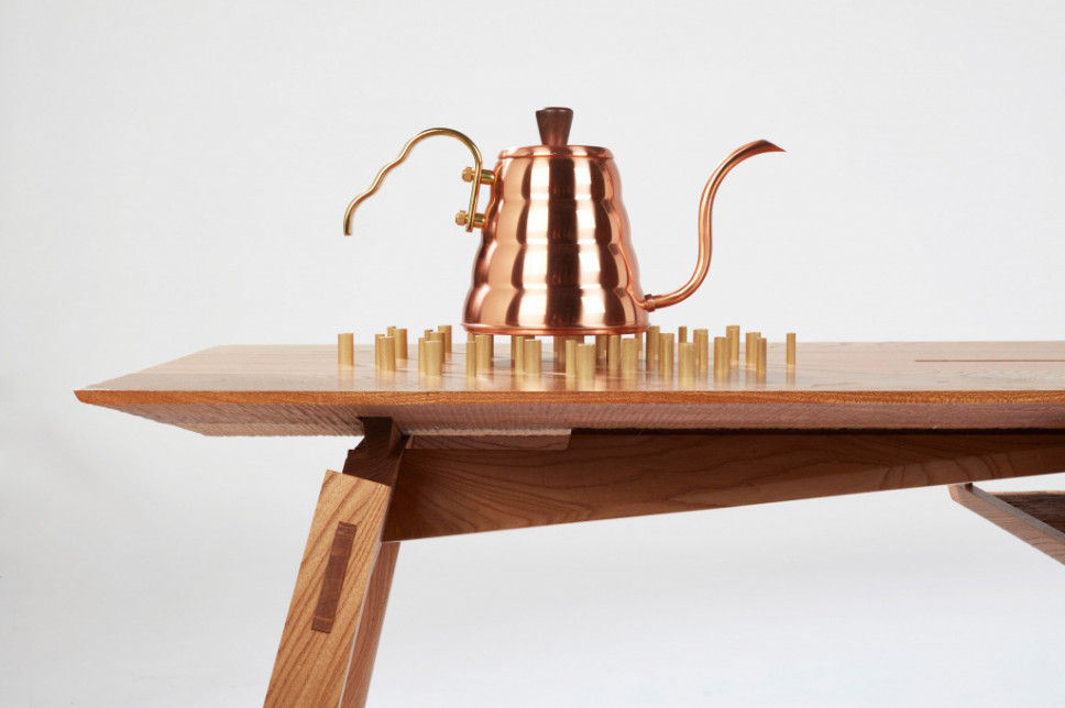 This Furniture Set Honors Art Of Coffee Brewing