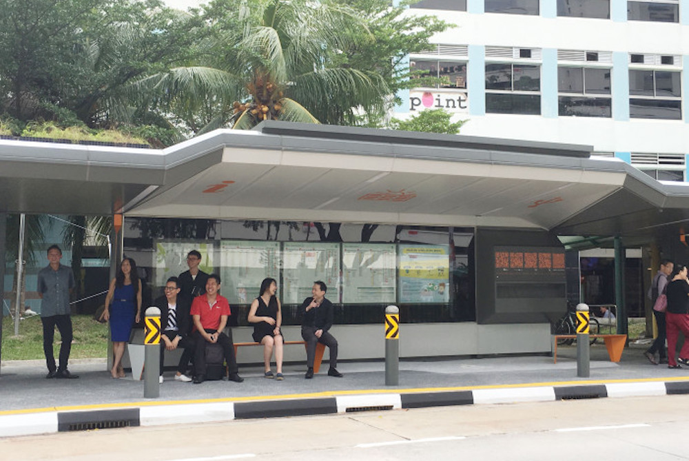 A Bus Stop That Actually Makes Waiting Fun