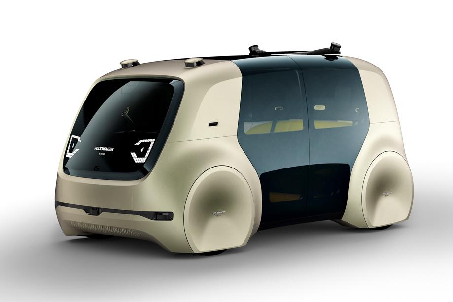 VW's Autonomous Vehicle Concept Is 'Driven' With A Key Fob