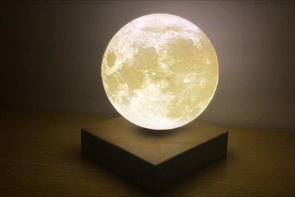 A Personal Levitating Moon For Your Home
