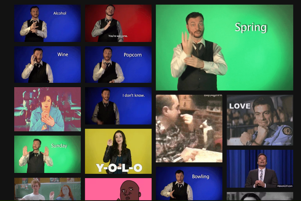 Learn Sign Language Through This Series Of Educational GIFs