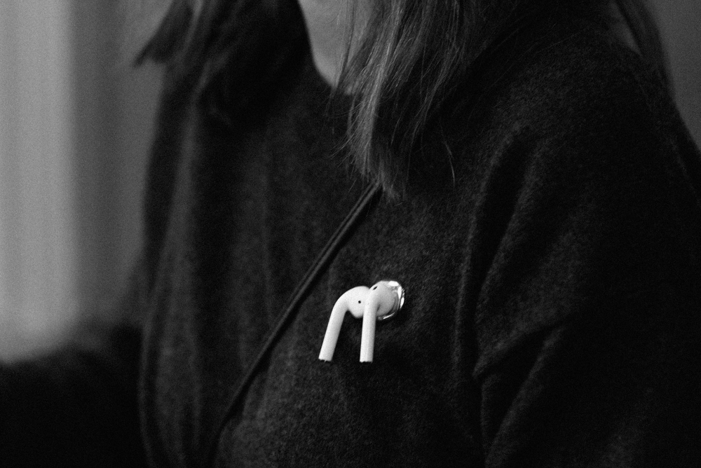 Magnetic Brooch Helps Wearers Keep Track Of AirPods