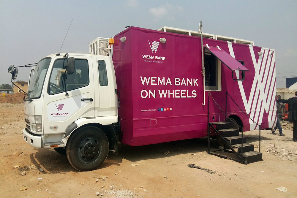 Solar-Powered Mobile Bank Helps Reach Remote Areas