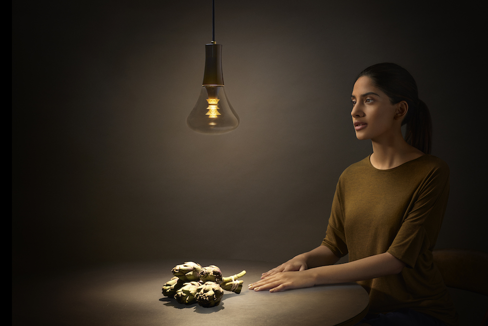 A Light Bulb That Makes You Look More Beautiful