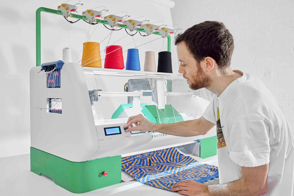This Digital Knitting Machine Will Let You Print Your Own Clothes