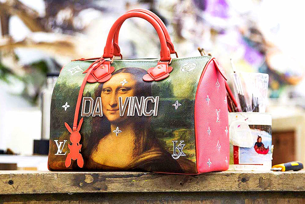 Artist Jeff Koons Recreates Art Masterpieces On Louis Vuitton Handbags