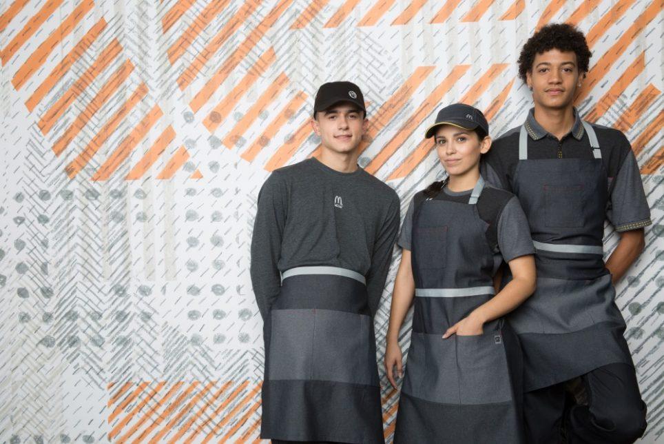 McDonald's Uniforms Just Got A Huge Makeover