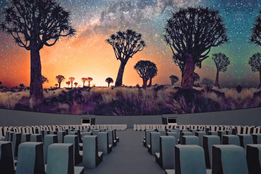 Antarctic Dome At Coachella Offers An Audio-Visual Sensory Experience