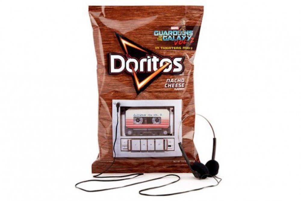 Doritos Campaign Turns Chip Bags Into Cassette Players