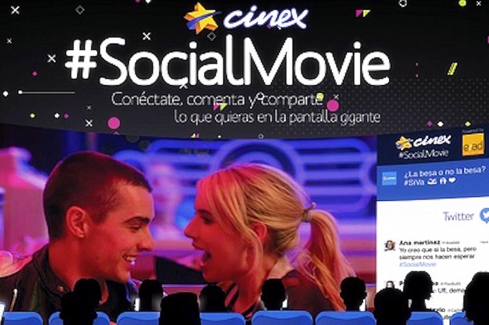Interactive Cinema Puts Your Tweets On The Big Screen