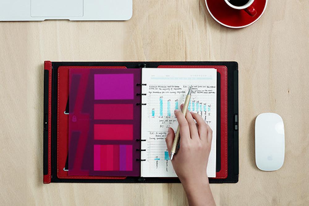 Snoop-Proof Notebook Uses A Fingerprint Sensor To Keep Your Secrets Safe