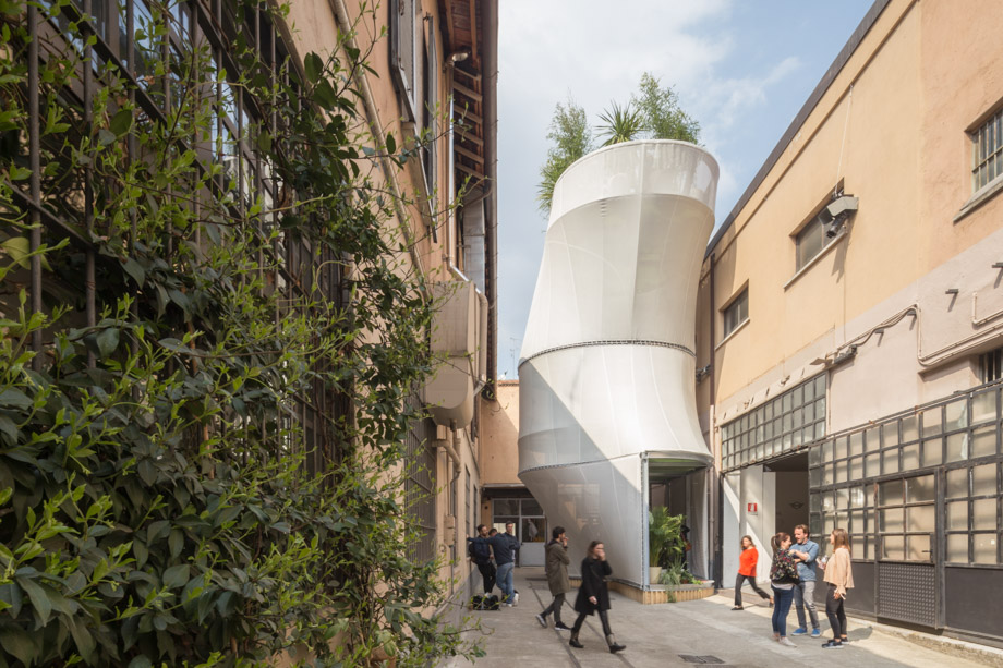 MINI's Fabric House Concept Explores The Limits Of Low-Impact City Living