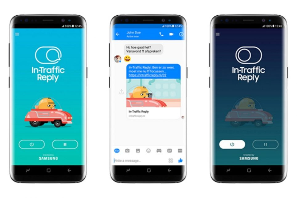 Samsung's New Auto-Reply Feature Is Made To Prevent Distracted Driving