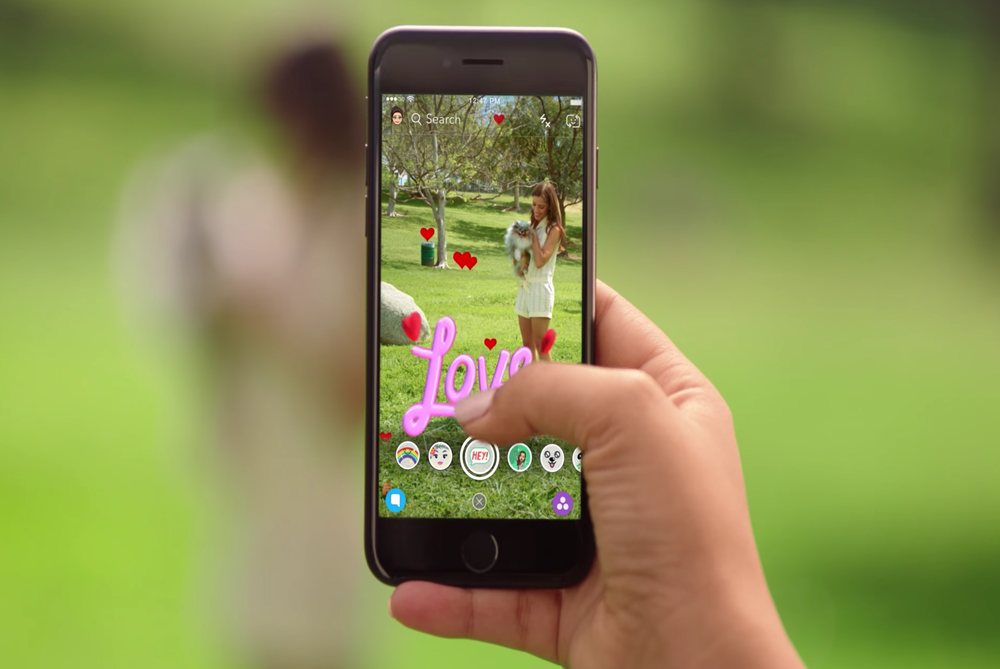 Snapchat Is Bringing A Little Of AR To The World With New Lenses