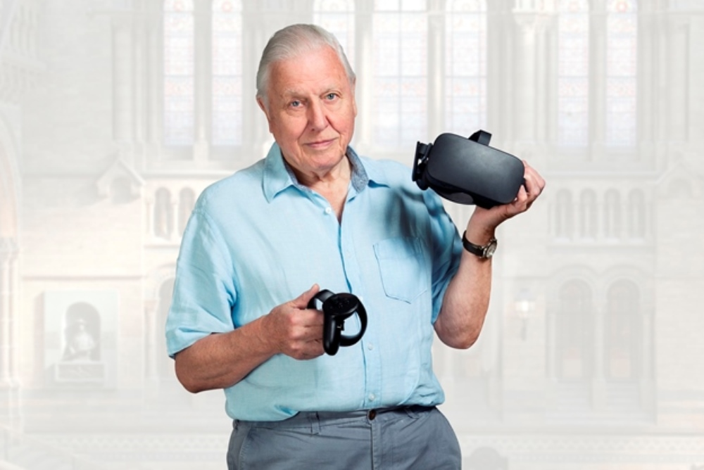 David Attenborough's Hologram Helps People Study Natural History In VR