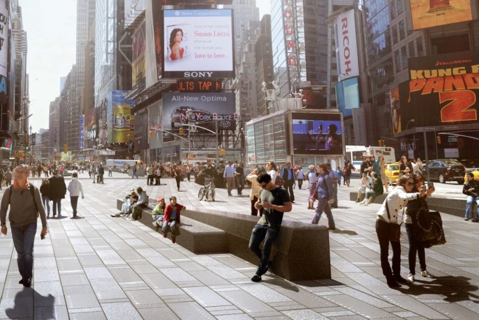 Redesigned Times Square Concept Adds More Room For Pedestrians